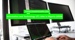 Information-and-Technology IT Jobs in Nigeria 2020