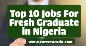 Jobs for fresh graduates