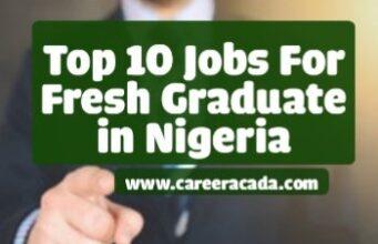 Jobs for fresh graduates