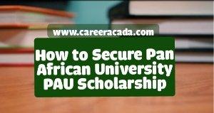 PAU scholarship