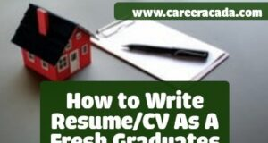 Resume For Fresh Graduates