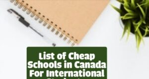 Cheap Schools in Canada