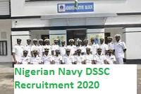 Nigerian Navy DSSC Recruitment