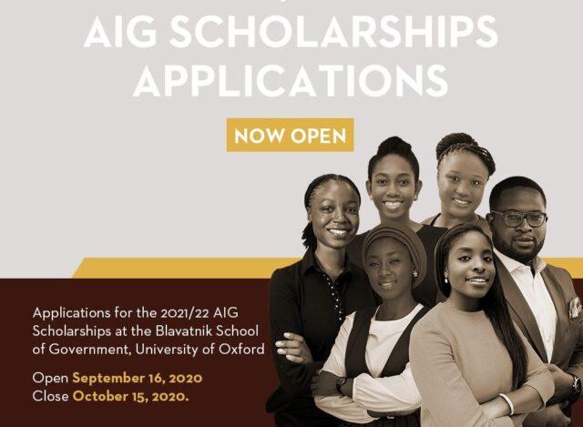 AIG Scholarships 2021-2022